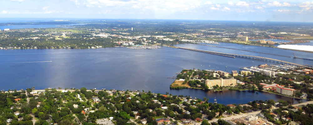 Bradenton Areal View